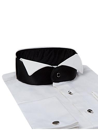 D'S Damat Klasik Gömlek Beyaz